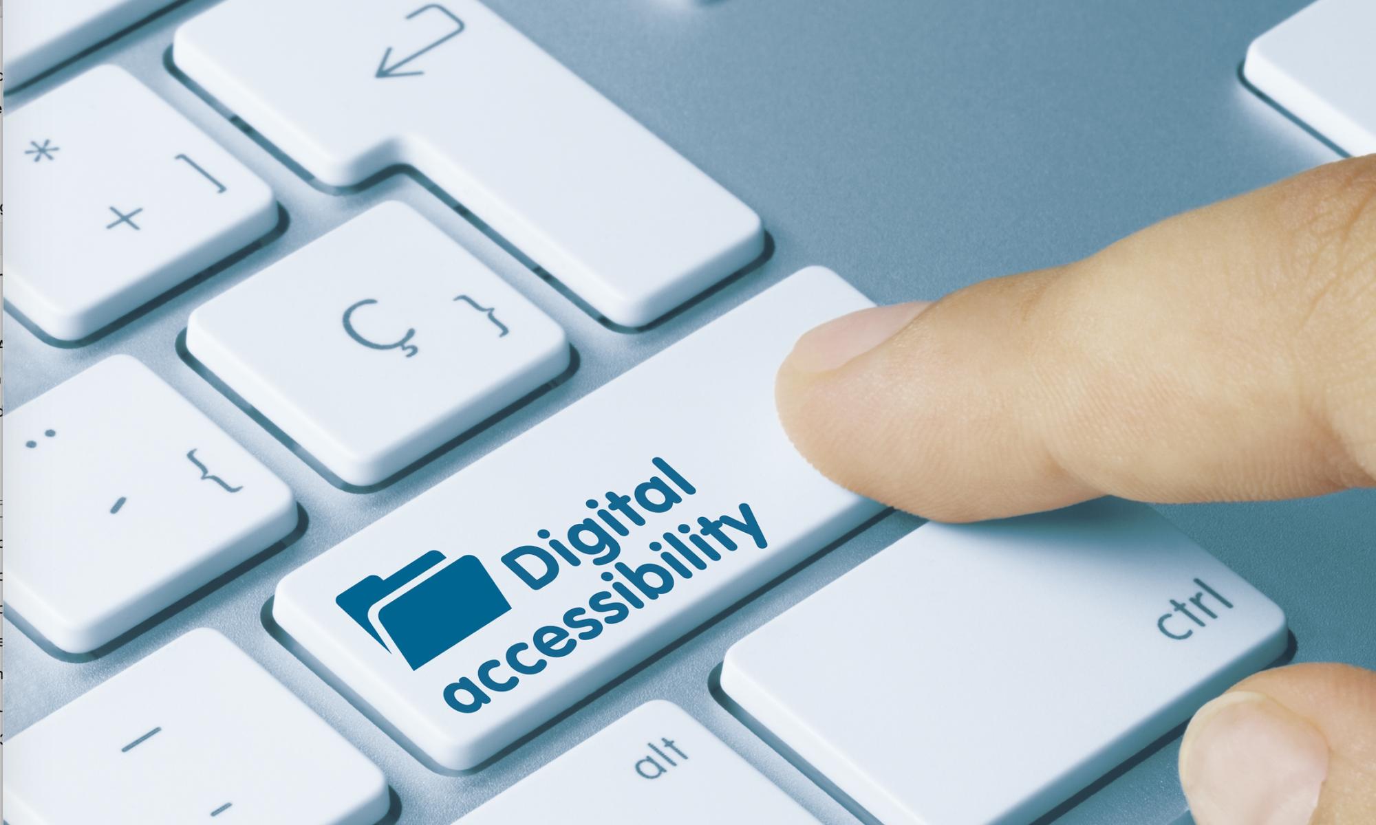 Digital Accessibility Keyboard